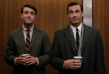 Mad Men / Don and Bob....