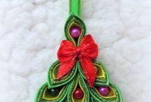 Árbol de Navidad en cinta