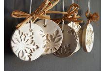 Новый год и рождество / украшения декор