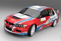 Tony Helou – Ziad Chehab (Mitsubishi Lancer Evo IX) / New desing for Libanon Championship 2013.