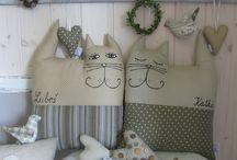 cuscini gatto