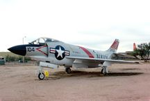 McDonnell F3H Demon / Pima Air & Space Museum : Tucson, Arizona 1990 McDonnell F3H Demon