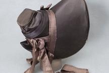 Romantic Era Bonnets 1820-40 / by Jennifer Rosbrugh