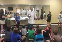 """Summer Reading 2018 - Music / Music City's favorite Science Guys present """"Making Waves"""" the science of sound and vibrations.  Good, Good, Good Vibrations!"""