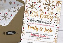 Baby It's cold outside baby shower ideas