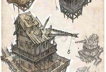concept art: architecture