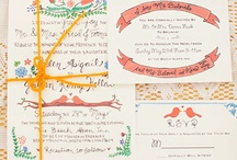 Wedding - Invites / by Alexandra Hoskyns