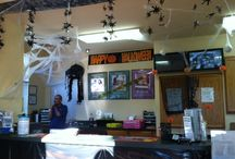 Office Decorations - Halloween / Our team members are so festive and creative!