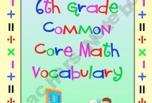6th grade math / by Susan Neal Barker