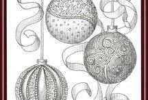Zentangle Christmas