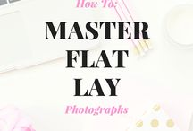 Flat lay photographs
