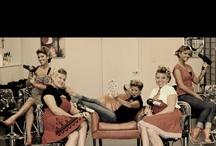 Salon shoot
