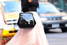 tulle maxi skirt outfit classy