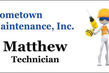 Maintenance Name Tags