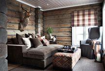 hytte stue