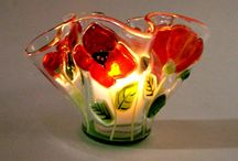 Fused Glass  / Samples / by Rose Shuck