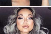 Hårfarge / Ispirasjon til farging av hår!