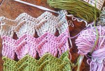 crochet stitches / I love trying new crochet stitches