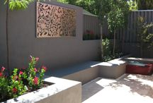 Garden Art - Feature Wall