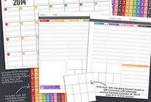 Planners | Basics / by Tammy @ Not Just Paper and Glue