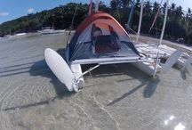 Camping on Small boats / Ideas for camping onboard small sailboats.