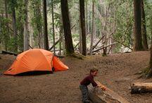Road trip camping adventures