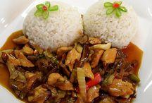 Čína a wok