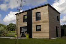 Réalisations Primobois / Maisons ossature bois conçues et réalisées par Primobois et le groupe Trecobat