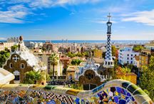 Colors and fanciful shapes - Gaudi & Barcelona