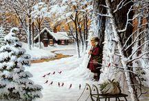 Art---Charles Wysocki / by JB