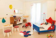 Progetti e oggetti /  prototipi di arredo a misura di bambino su progetto di Arkidslab