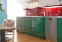 Bunte Küchen von popstahl.de / Colorful kitchens by popstahl.de