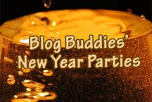 BlogBuddies: New Year / We love the New Year fun and celebrate the end of each and each new one.