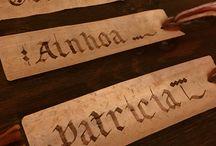 Papel, Caligrafía y Encuadernación