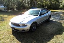Used 2010 Ford Mustang for Sale ($16,500) at Waverly, GA / Make:  Ford, Model:  Mustang, Year:  2010, Body Style:  Convertible, Exterior Color: Silver, Interior Color: Beige/Tan, Transmission: 6 Speed Automatic Doors: Two Door, Vehicle Condition: Very Good, Mileage:45,000 mi, Fuel: Gasoline, Engine: 6 Cylinder, Drivetrain: 2 wheel drive - rear.   Contact: 912-242-2222  Car ID (56691)