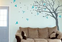 Tree stickers & decor / www.wallboss.co.uk for a collection of tree wall stickers and decals