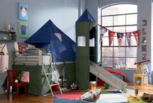 boys bedroom ideas / by Anita Burgess