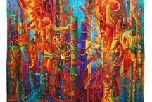 Award Winning Tapestries - Maximo Laura