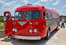Classic Bus Conversions / Classic Bus Conversion ideas to turn an antique Flexible bus into an RV.