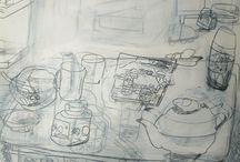 Drawing - Still life