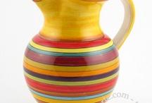 Into pitchers & mugs