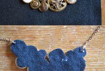 DIY - modelina, biżuteria, haft, szydełko itp