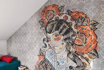 Decoriamo le pareti / Idee per decorare le pareti di casa.
