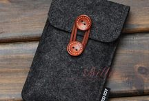 felt phone case and bag