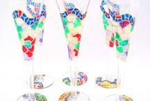 Como decorar copas / Wine