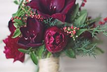 WEDDING (Blush Burgundy & Green)