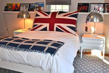 british bedroom