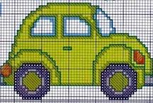 CAR*CROSS STITCH -EMBROIDERY