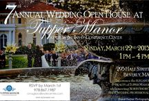 7th Annual Wedding Open House / Sunday, March 22nd, 1pm - 4pm   Experience the ELEGANCE & BEAUTY of TUPPER MANOR  while meeting NORTH SHORE'S FINEST WEDDING PROFESSIONALS   / by Tupper Manor