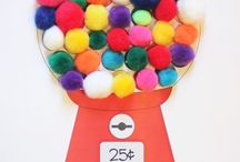 Kids Crafts Pom Poms